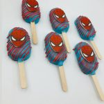 Cake Pops SweetDream.lt spiderman